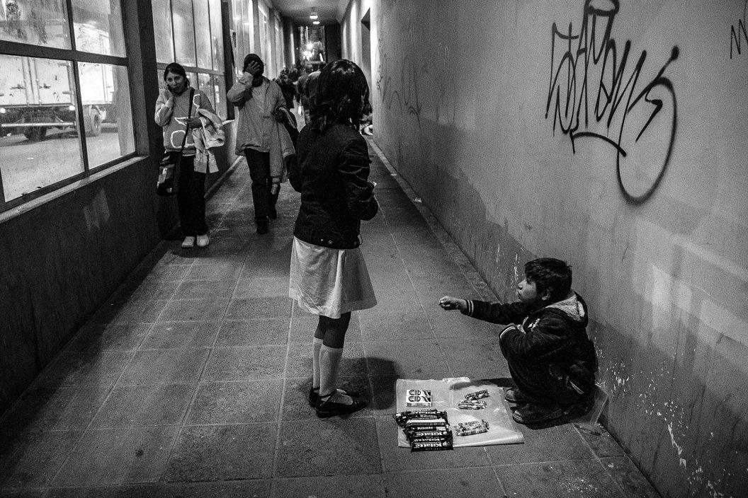 Niños trabajadores de Bolivia (serie x 3)