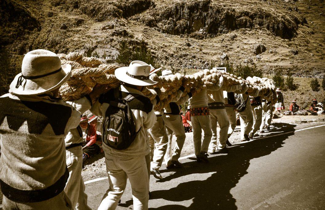 Construyendo el puente Inca x 4