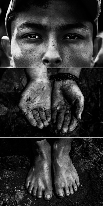 Hijos de la Tierra x 4 (Darwin - Emanuel - Felipe - Jhonatan)
