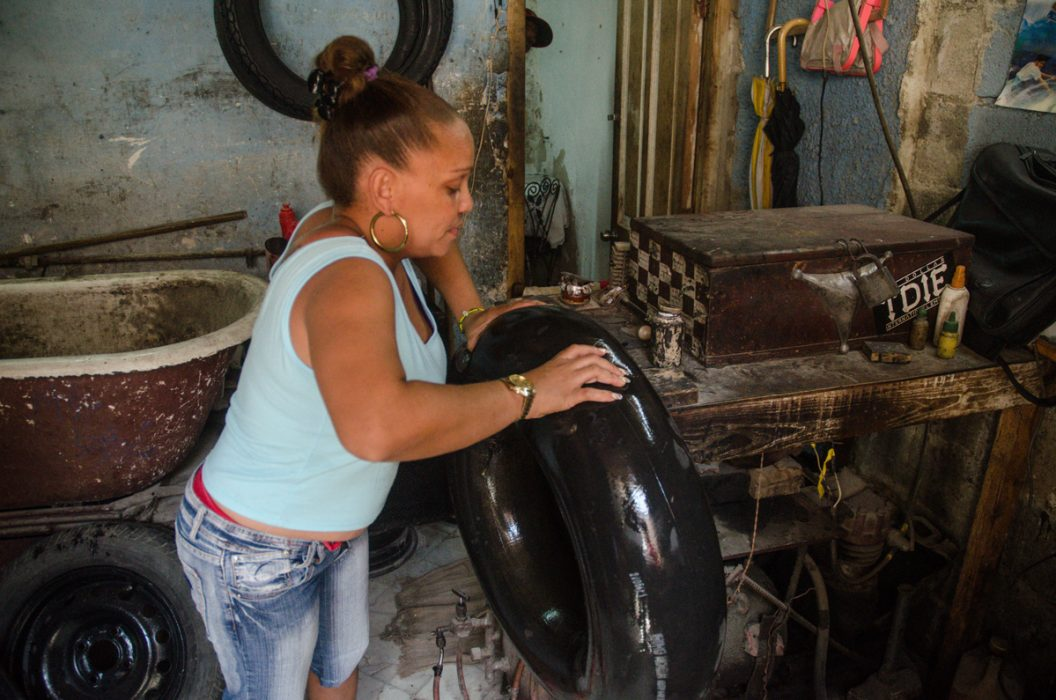 La lucha de Damileisy - Jardines - Yander Zamora - Cuba